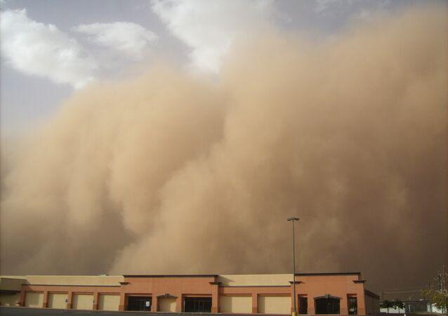 Tempestade de areia (imagem referencial)