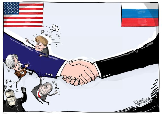 Apertar mão de Putin pode ser pesado demais para EUA