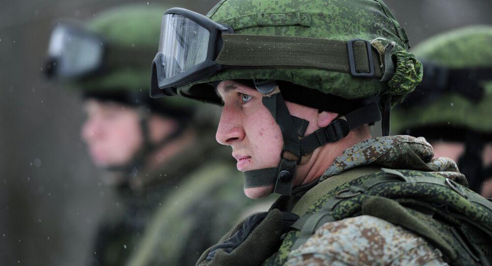 Tropas do Exército da Rússia obtêm novo uniforme de batalha (imagem de arquivo)