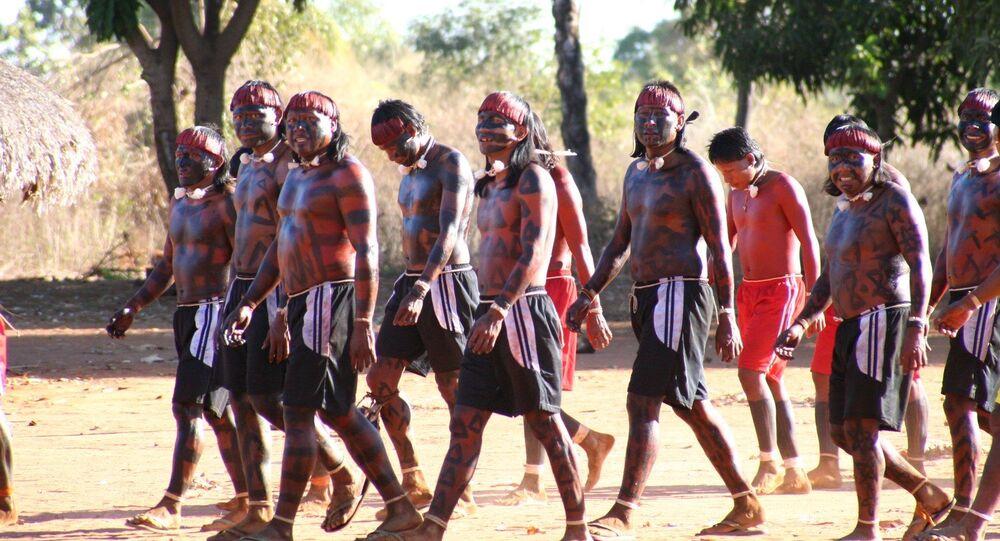 Tribo Xavante se prepara para ritual