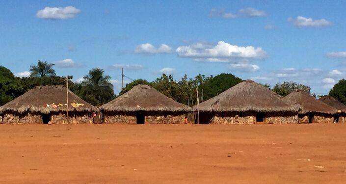 Ocas na tribo Xavante