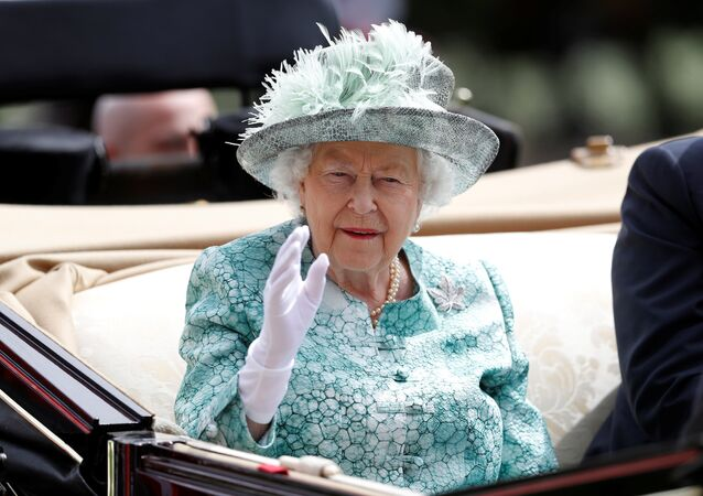 Horse Racing - Royal Ascot - Ascot Racecourse, Ascot, Britain - June 23, 2018 Britain's Queen Elizabeth during the royal procession before the start of the racing