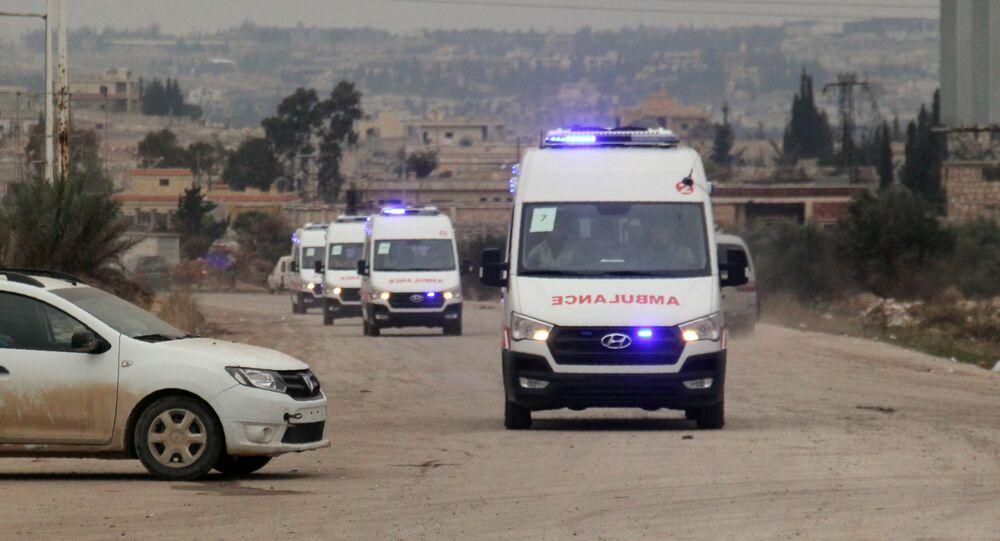 Ambulância na Síria