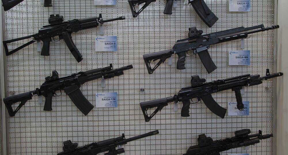 Metralhadora Kalashnikov