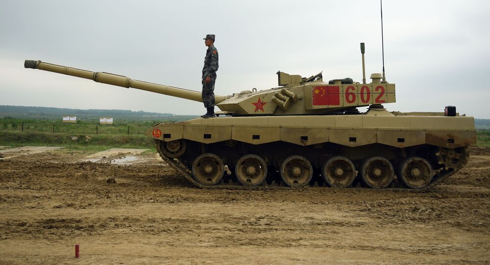 Tanque chinês Type 96 (imagem referencial)
