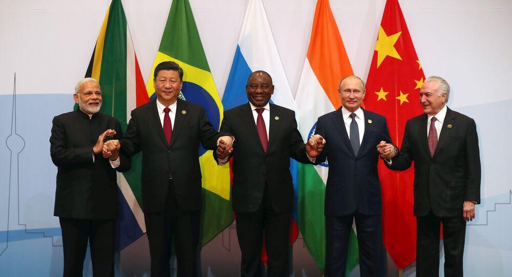 Presidentes dos países BRICS