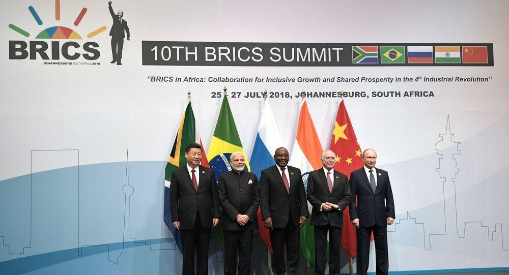 Líderes do BRICS