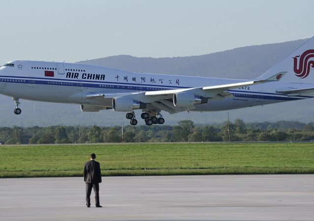 Aeronave da Air China (Arquivo)