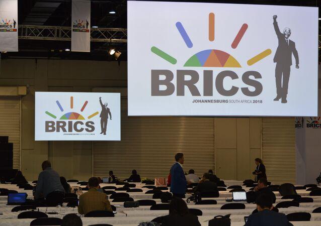 10ª cúpula do BRICS em Joanesburgo, África do Sul