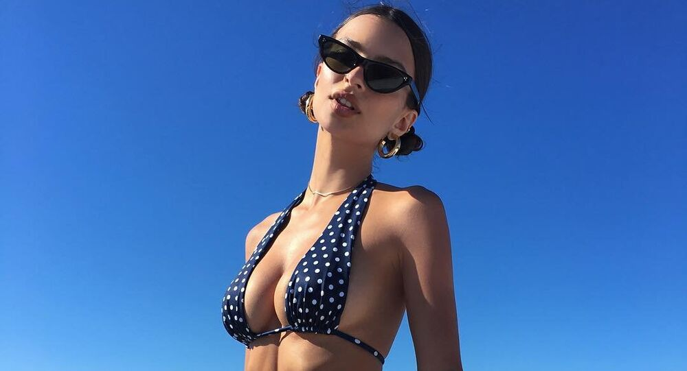 Modelo e atriz norte-americana Emily Ratajkowski