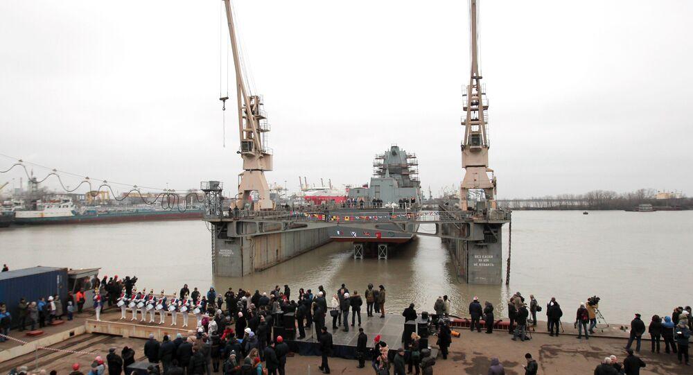 Fragata Admiral Kasatonov, São Petersburgo, Rússia