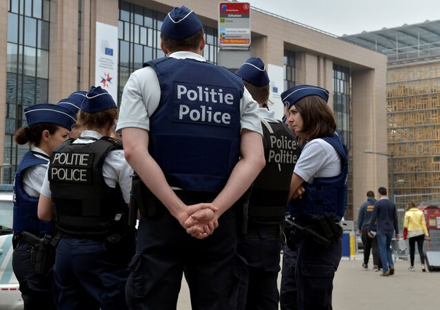 Polícia bélgica (foto de arquivo)