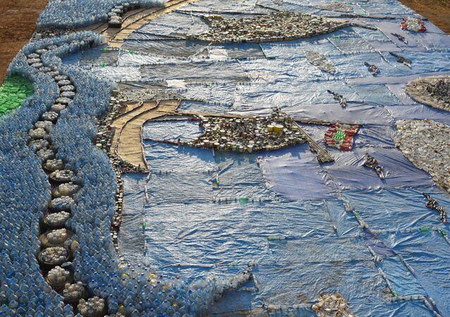 Mosaico de lixo
