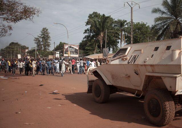 Missão de paz da ONU na República Centro-Africana