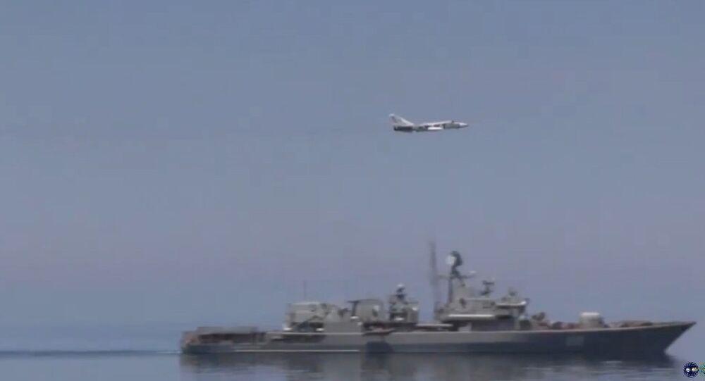 USS Ross no Mar Negro (1º de junho de 2015)