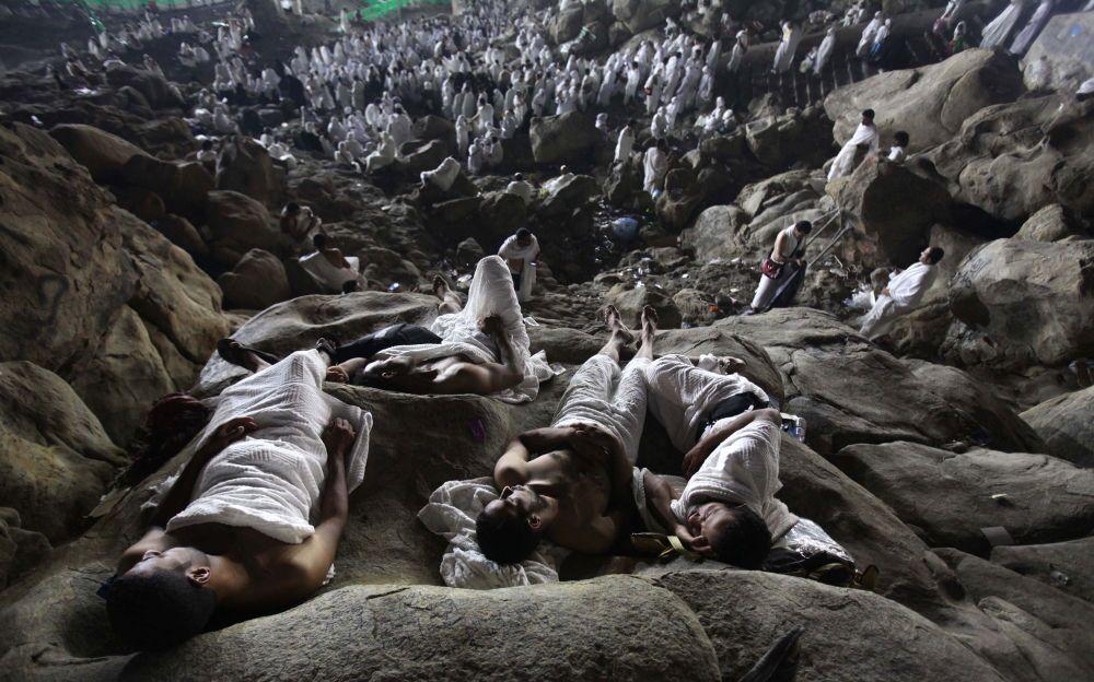 Fotógrafo israelita Ashraf Amra Muçulmanos fazem o Hajj (The annual muslims Hajj)