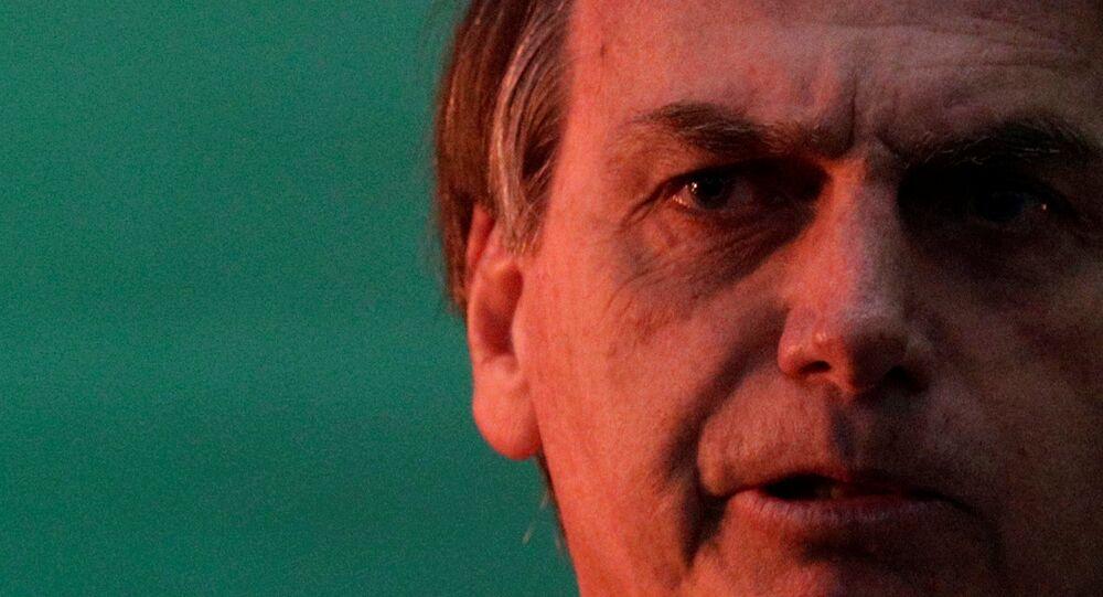 Jair Bolsonaro na convenção do PSL.