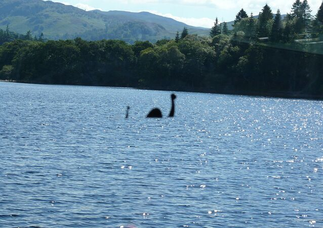 Monstro do lago Ness (imagem referencial)
