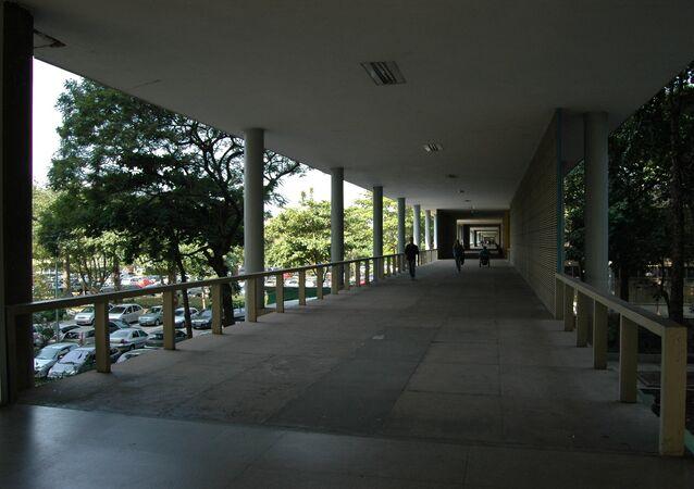 Corredores da UFRJ, Universidade Federal do Rio de Janeiro (arquivo)