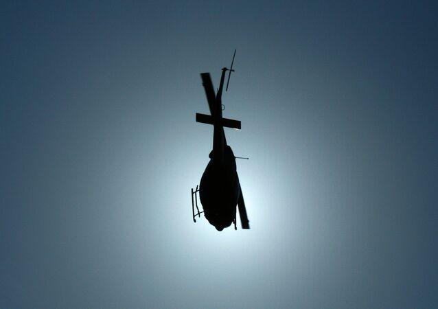 Helicóptero no qual recém-casados embarcaram caiu pouco depois de levantar voo