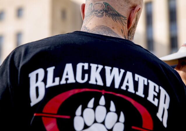 Ex-membro de Blackwater (foto do arquivo)