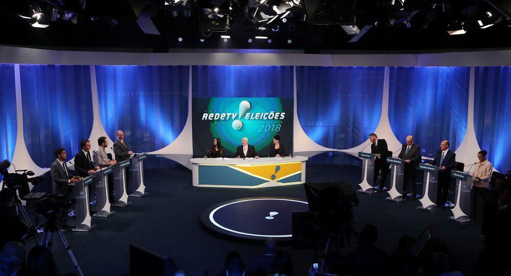 Debate presidencial na RedeTV