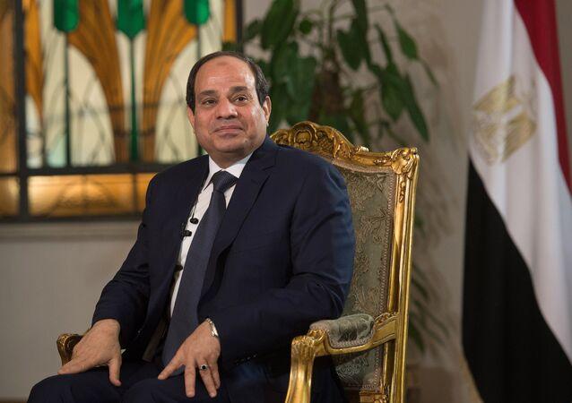 Abdel Fattah al-Sisi, presidente do Egito