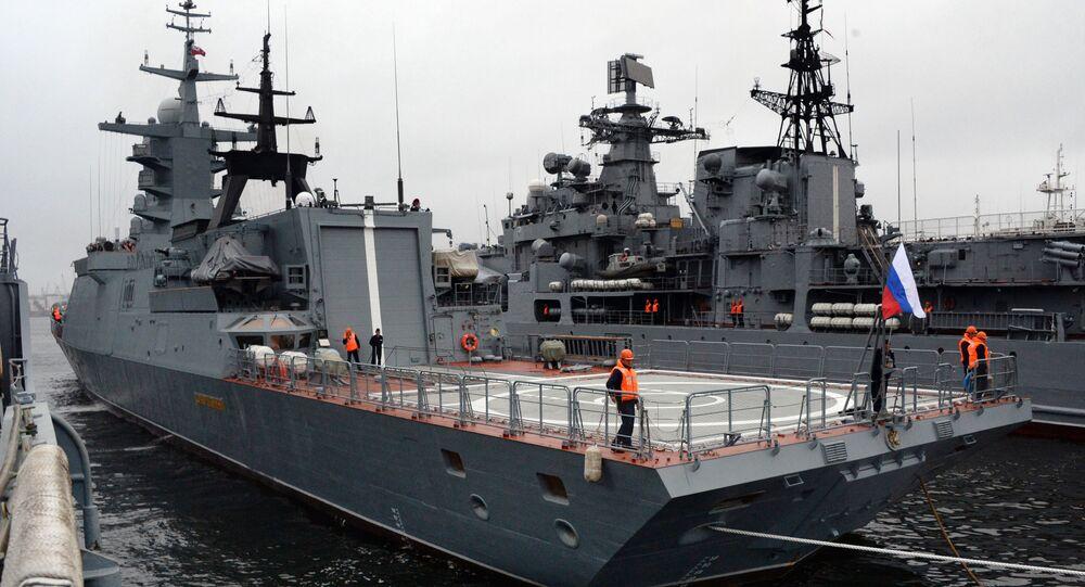 Corveta da Marinha russo Sovershenny do projeto 20380