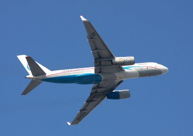 Avião Tu-204 (imagem referencial)
