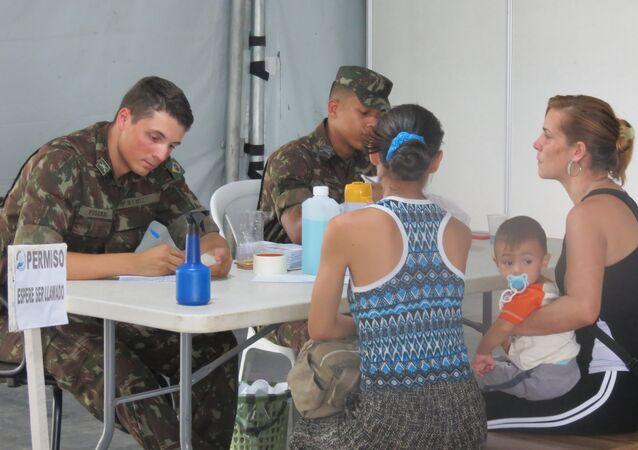 Posto de controle fronteiriço de Pacaraima, Roraima
