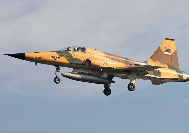Caça Northrop F-5 da Força Aérea do Irã (foto de arquivo)