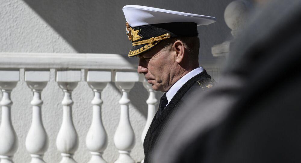 Ex-comandante da Marinha ucraniana, vice-almirante Sergei Gaiduk