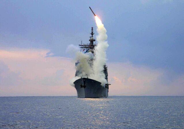 Lançamento do míssil Tomahawk (foto de arquivo)