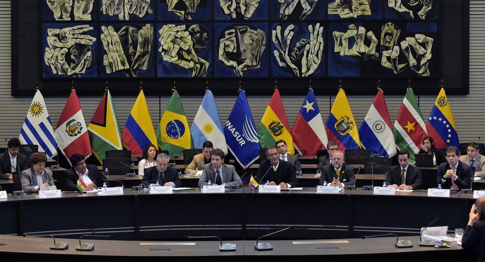 Reunião de ministros do Petróleo dos países da Unasul (foto de arquivo)