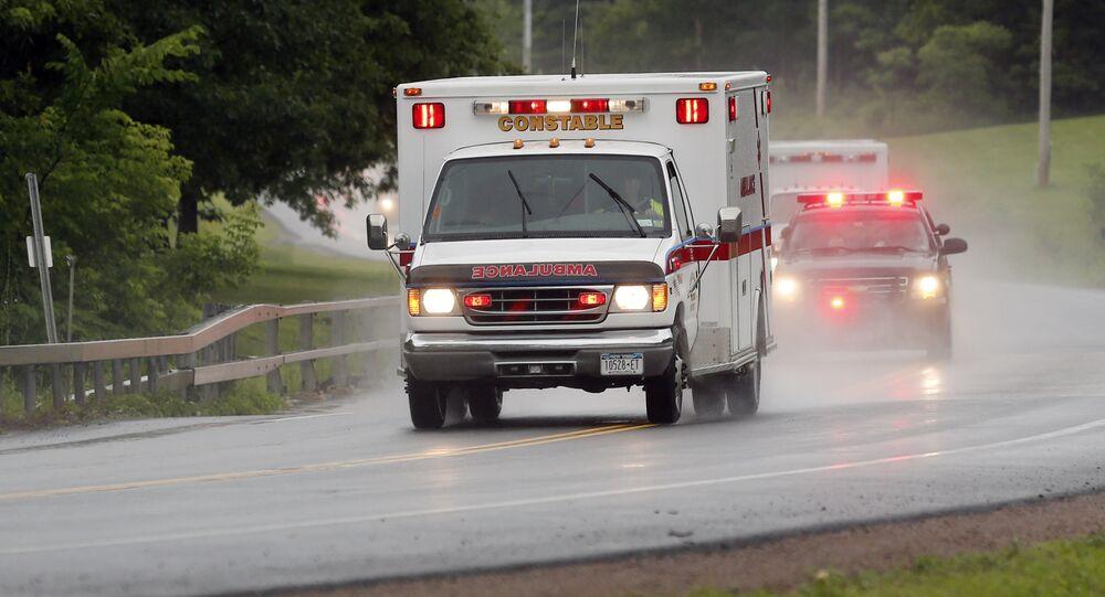 Ambulância nos EUA (imagem referencial)