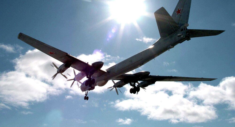 Avião antissubmarino russo Tu-142
