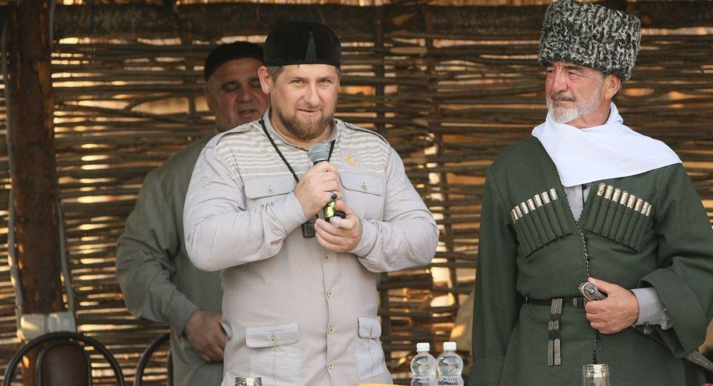 Líder da Chechênia, Ramzan Kadyrov