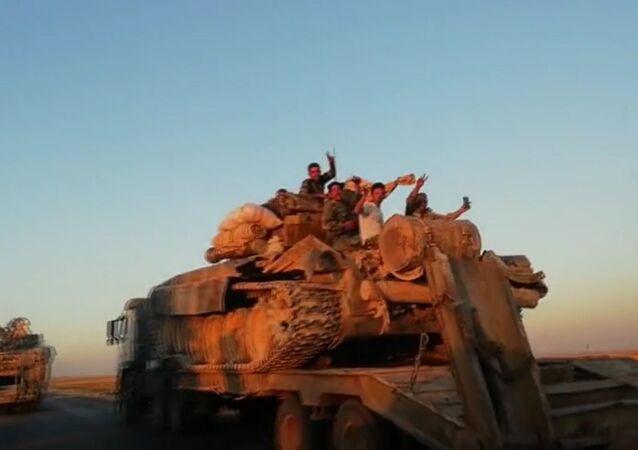 Preparação de ofensiva em Idlib