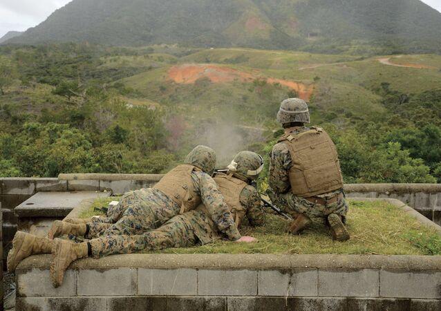 Militares americanos (foto de arquivo)