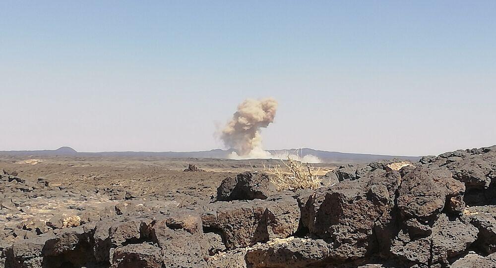 Artilharia síria junto com aviação  atacou posições do Daesh em As-Suwayda, sul do país