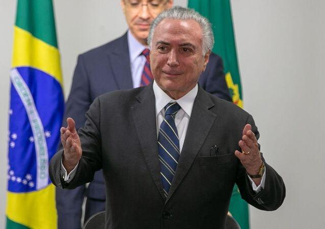 Temer participa de reunião sobre a crise com venezuelanos em Roraima