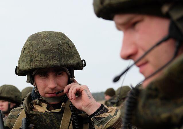 Militares da Força de Operações Especiais russa