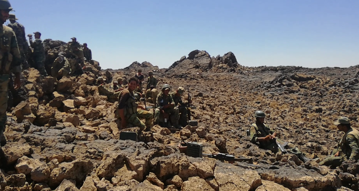 Dezenas de terroristas eliminados durante operação nas colinas de Tulul al-Safa, na província de As-Suwayda