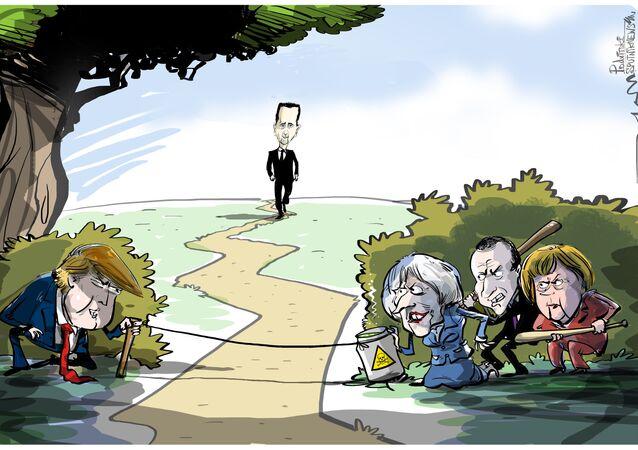 Armadilha do Ocidente só quer Assad de recompensa