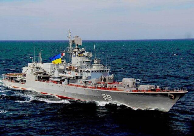Fragata da Marinha ucraniana