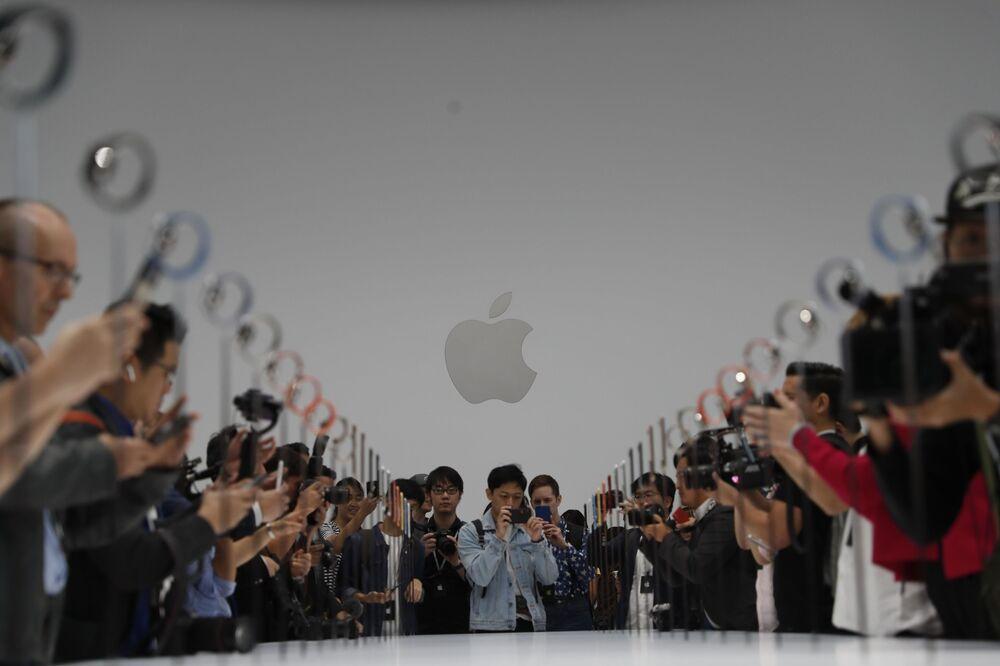 Apresentação dos novos modelos do iPhone no teatro Steve Jobs, 12 de setembro