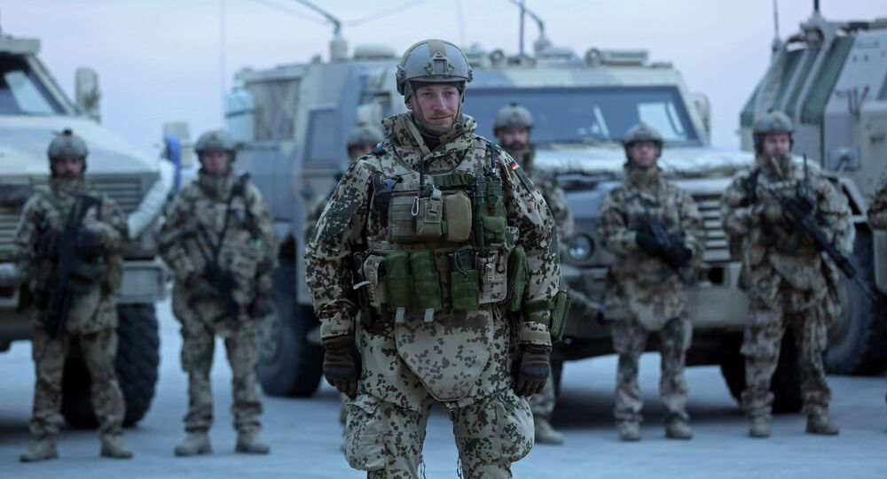 Soldados alemães da OTAN