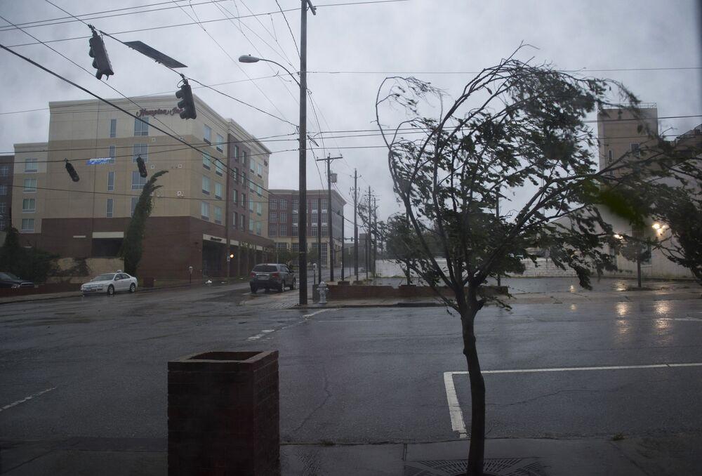 Furacão Florence em Wilmington, Carolina do Norte