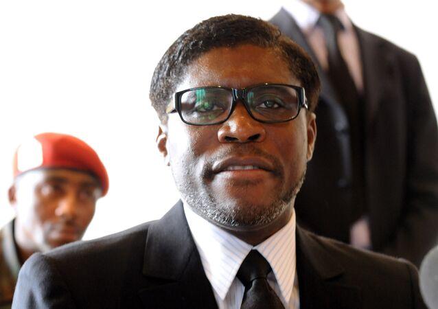 Teodoro Obiang Mang, vice-presidente de Guiné Equatorial