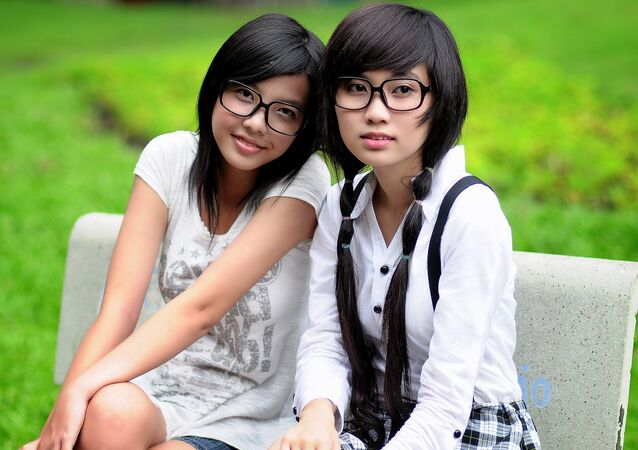 Estudantes chinesas